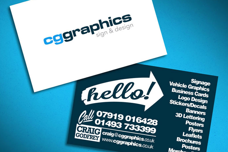Cg graphics sign design print business cards flyers reheart Image collections